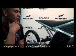 Interview with Grace Bikes at Interbike 2014: The New Nicolai RN-1 Electric Bike Prototype