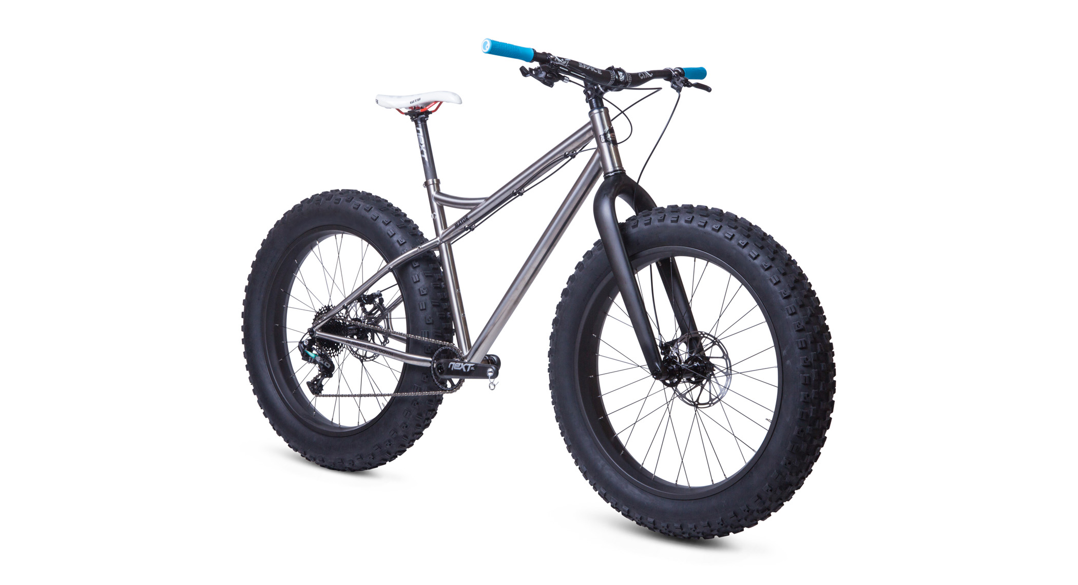 NEW 2016 RSD MAYOR FATBIKE IN TITANIUM WITH CUSTOM CARBON FORK - Calgary
