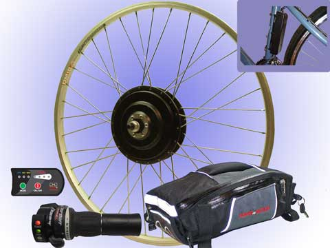 MegaMotion electric bike kit - PowerInMotion