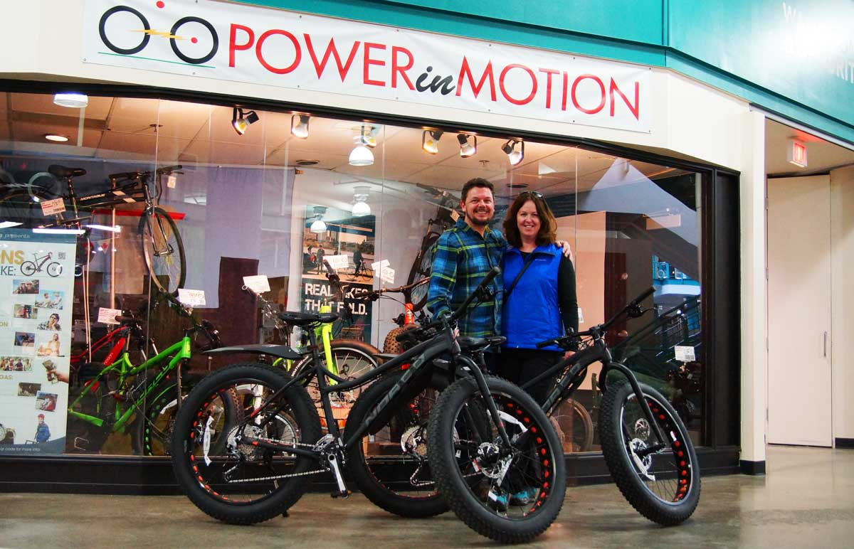 2016 Norco Bigfoot fatbikes Happy Couple from Red Deer