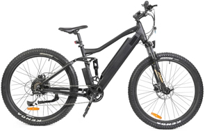 All season, Electric dual suspension mountain fatbike