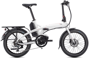 "Tern Vektron D8, Electric 20"" folding bike, White, Ajustable Stem, City Bike, Calgary, Canada"